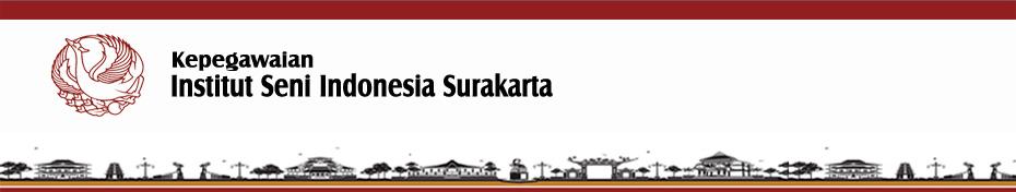 Kepegawaian ISI Surakarta