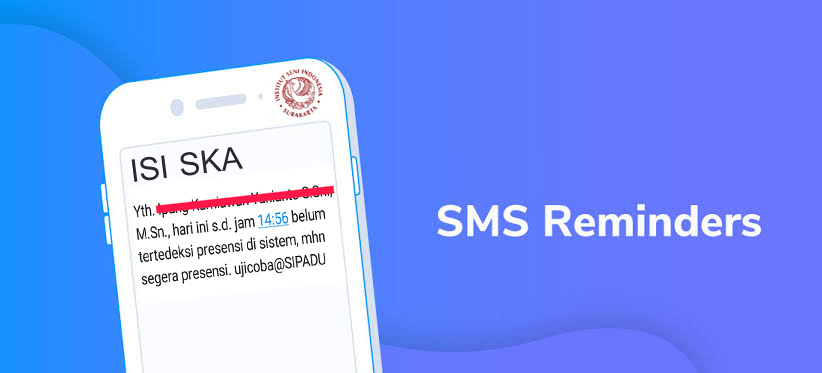 Surat Edaran tentang SMS Reminder