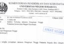Pengumuman Seleksi Terbuka Jabatan Pimpinan Tinggi Pratama Universitas Negeri Surabaya